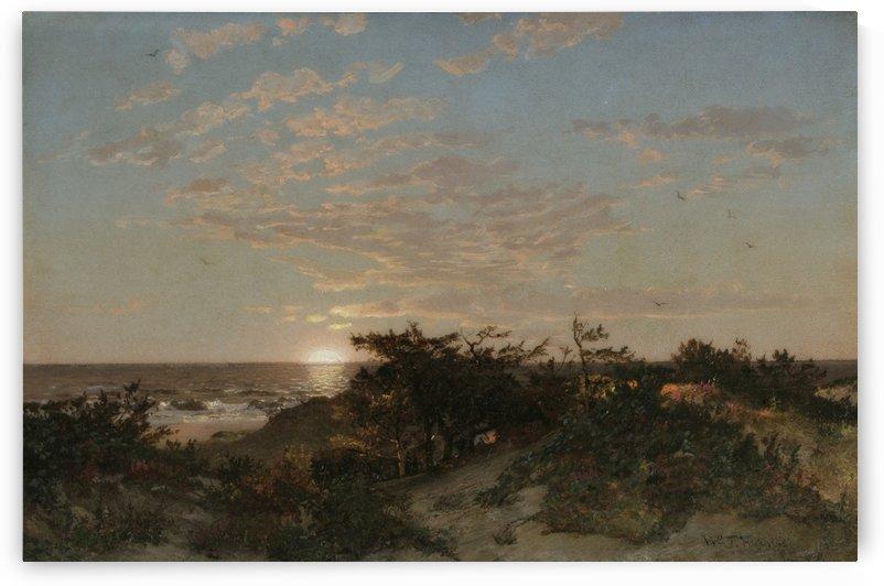 Coastal scene, 1862 by William Trost Richards