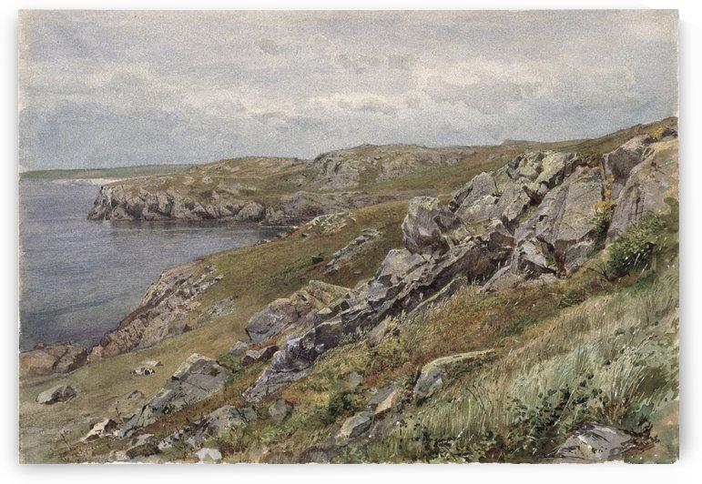 Rhode Island Coast, Conanicut Island by William Trost Richards