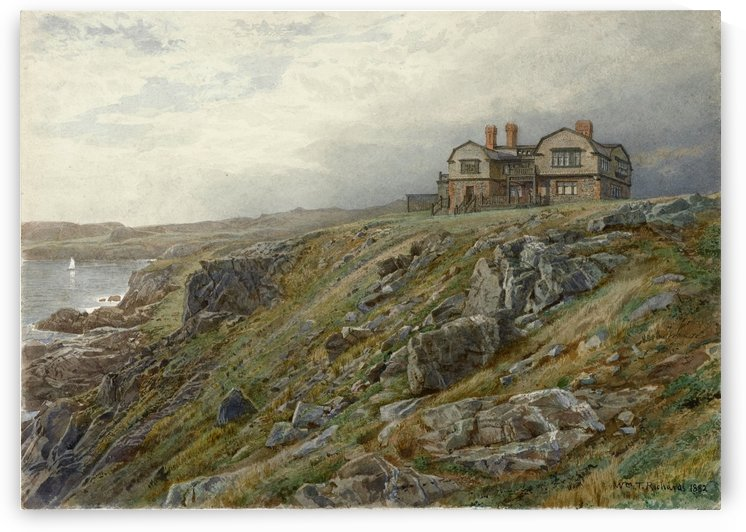 Summer house in Newport by William Trost Richards