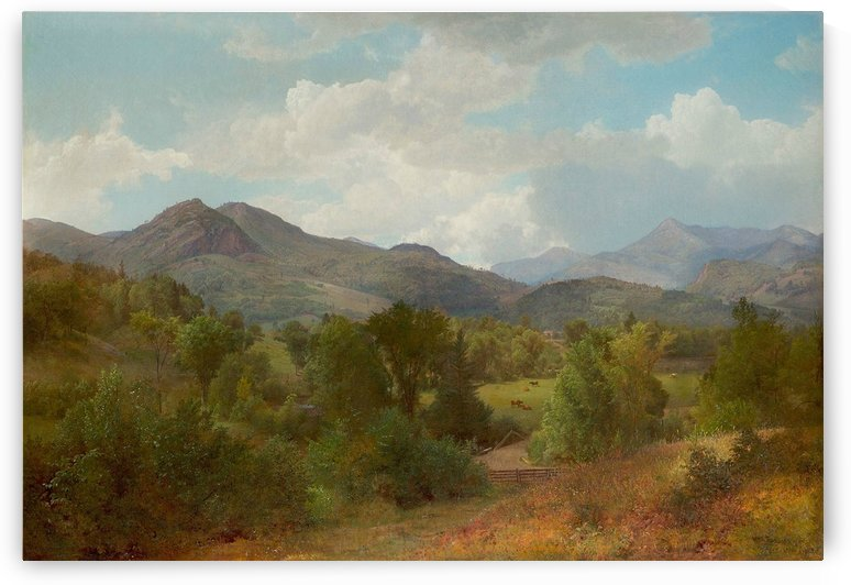 Keene Valley by William Trost Richards