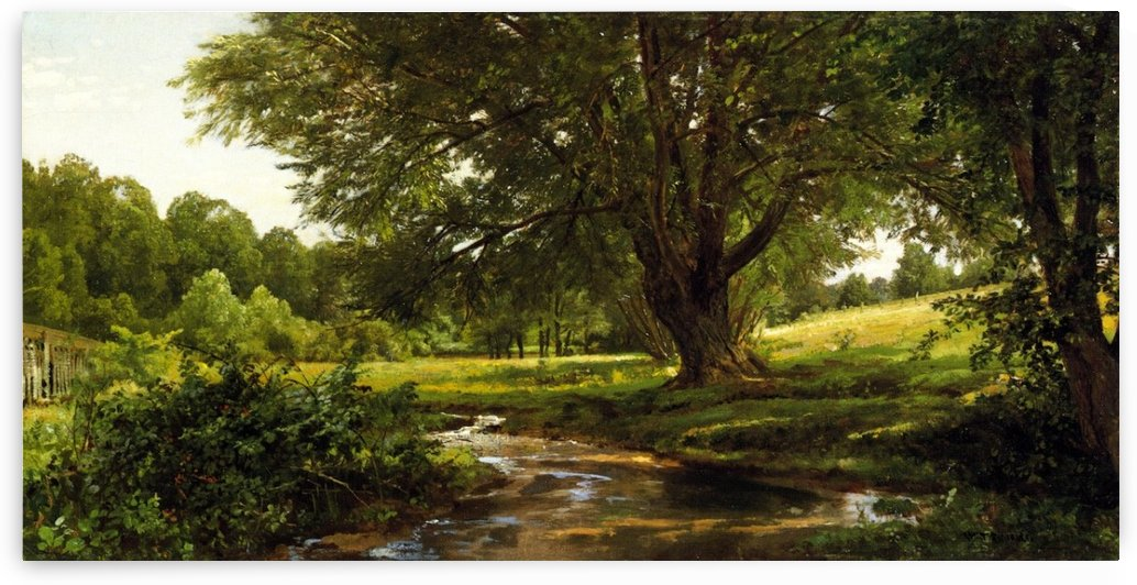 Glade at Oldmixon, Chester County, Pennsylvania by William Trost Richards