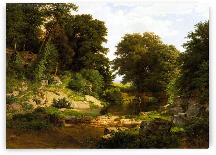 Woodland Brook by William Trost Richards