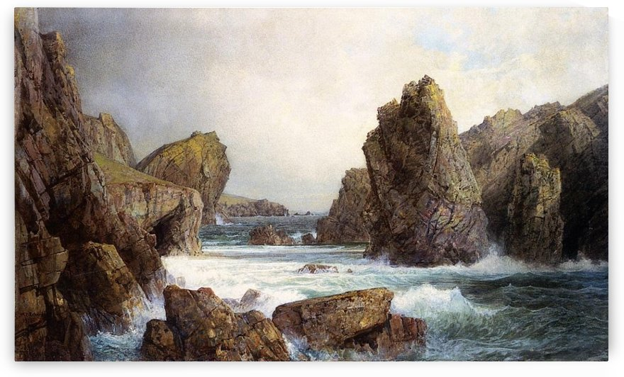 Rocky Inlet by William Trost Richards