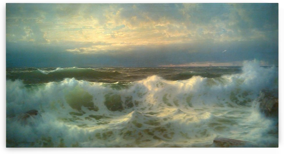 Along the shore by William Trost Richards