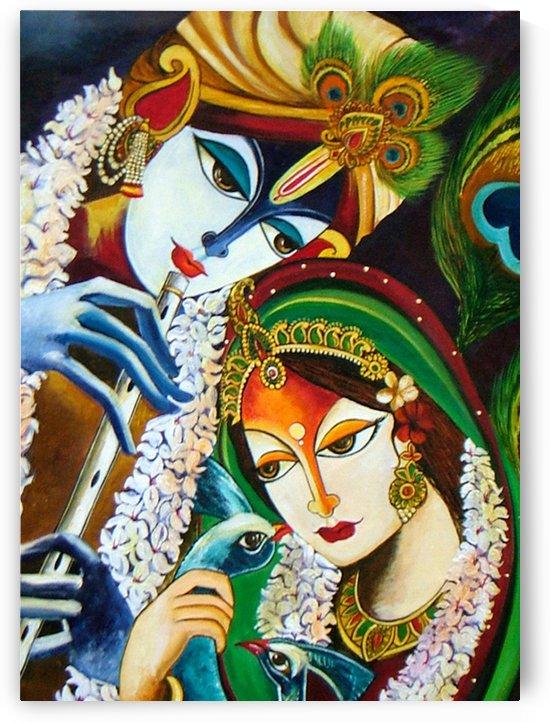Radha Krishna by Mrs Neeraj Parswal