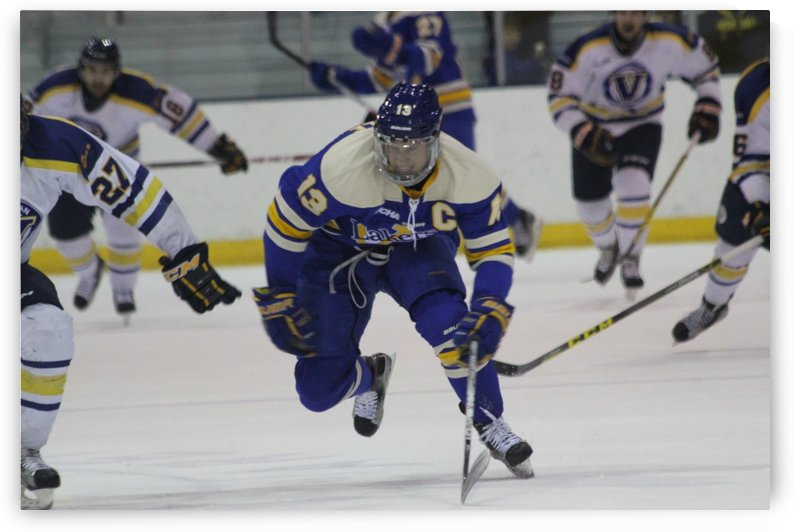 Lakers Captain # 13 Gus Correale  by Justin Cairns