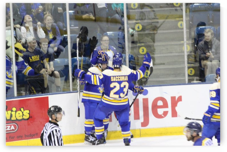 Lakers goal celebration  by Justin Cairns