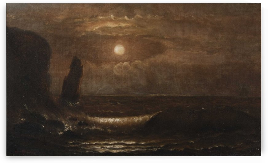 The night by William Trost Richards