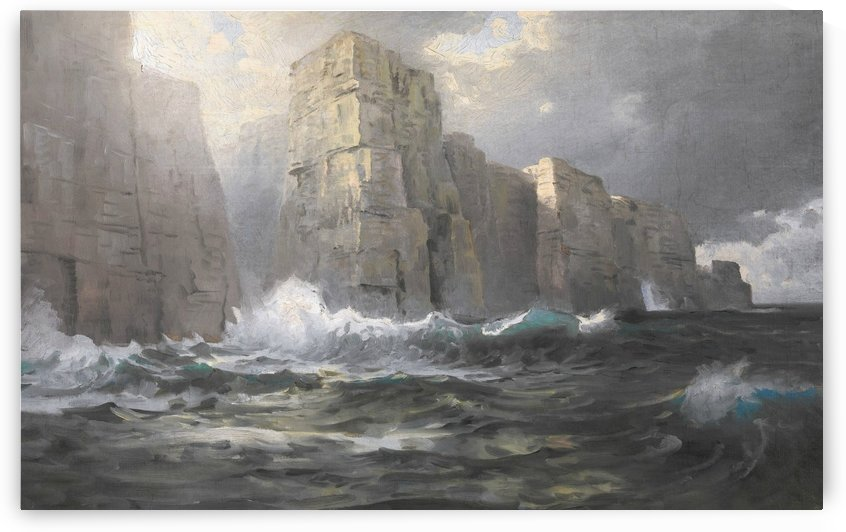 Chrysler seascape by William Trost Richards