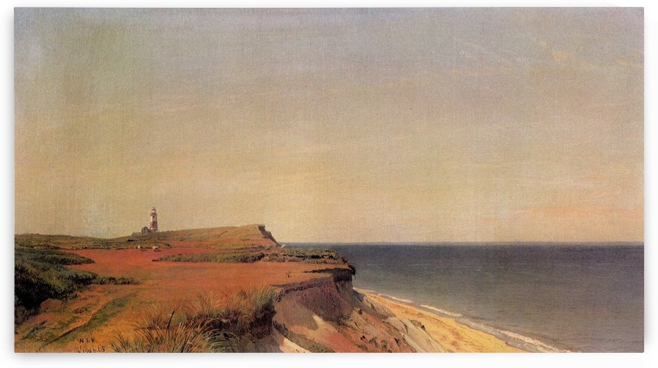 Sankaty Head Lighthouse, Nantucket by William Trost Richards