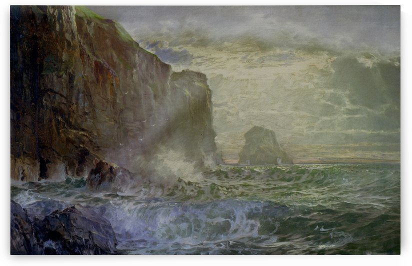 Grand Manan Island by William Trost Richards