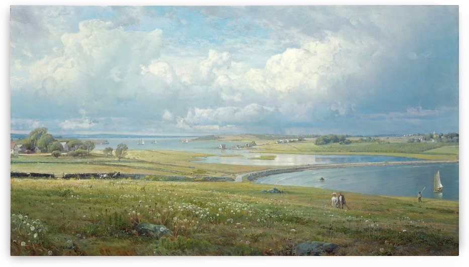 Mackerel Cove, Jamestown, Rhode Island by William Trost Richards