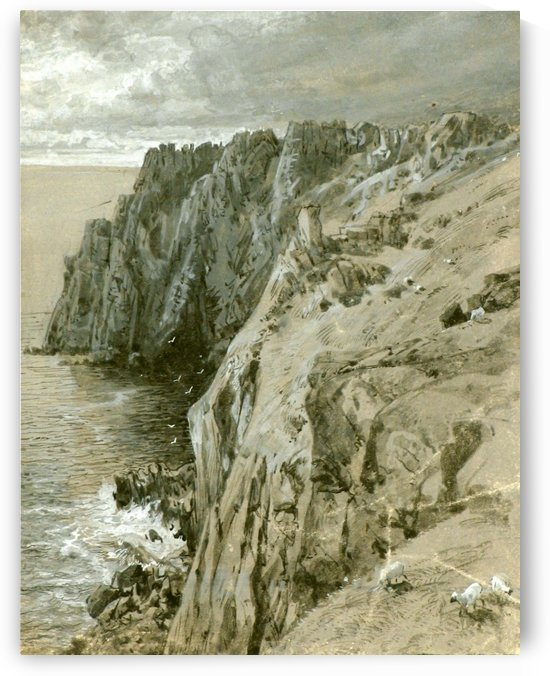 Lands End, Cornwall, 1880 by William Trost Richards
