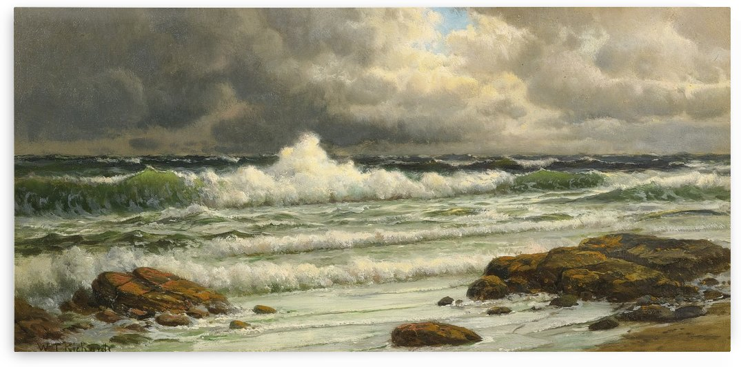Along the coast by William Trost Richards