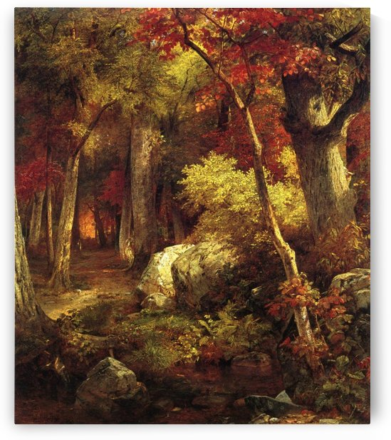 October by William Trost Richards