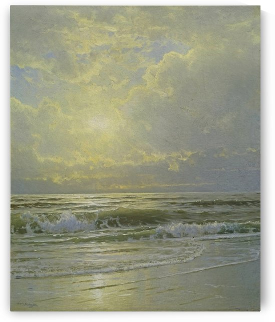 Morning sea view by William Trost Richards