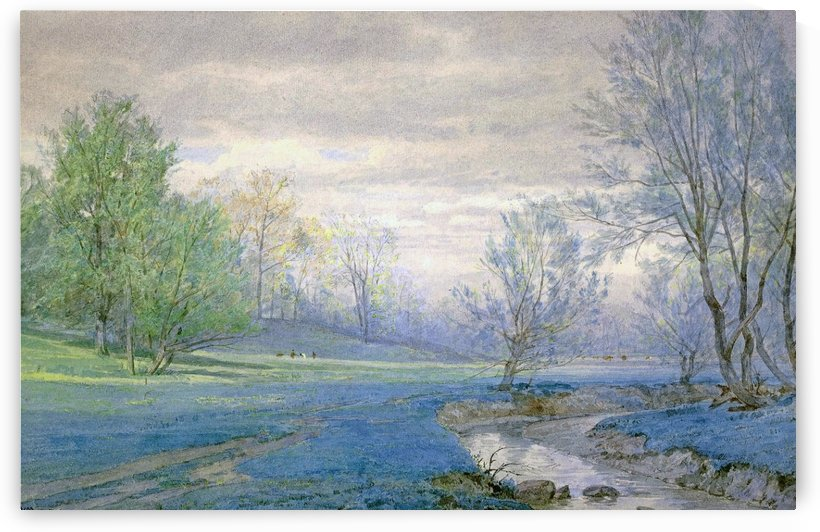 Spring, Germantown by William Trost Richards