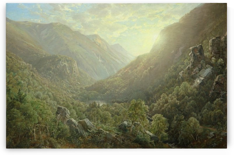American Landscape by William Trost Richards
