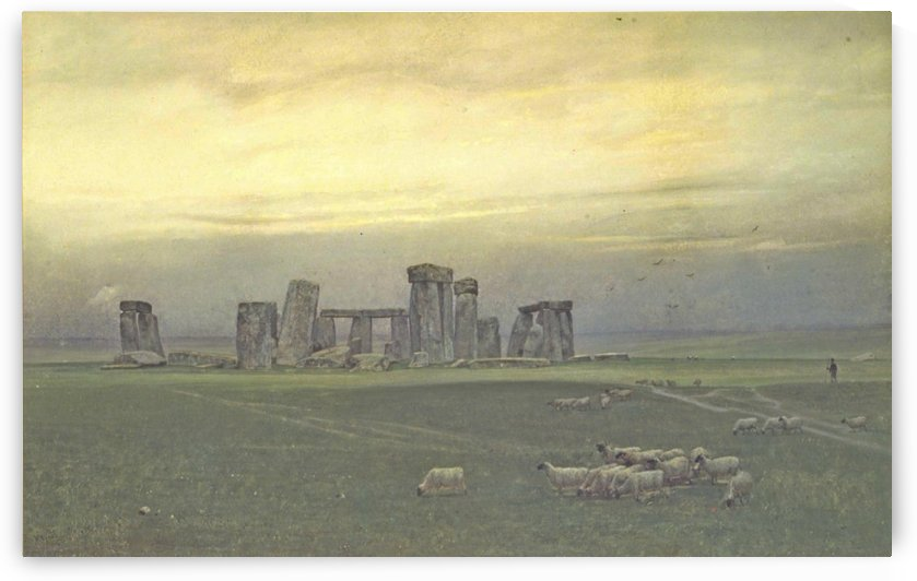 Stonehenge, 1890 by William Trost Richards