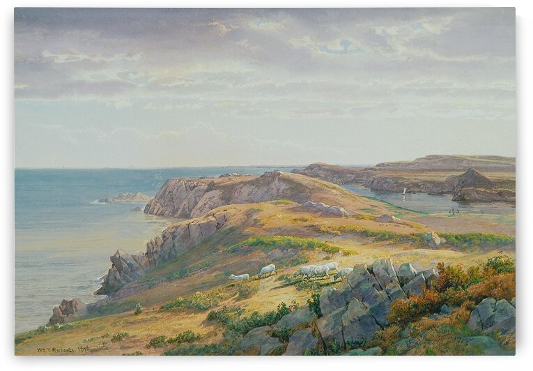 From Paradise to Purgatory, Newport by William Trost Richards