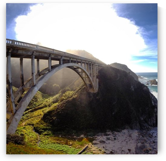 Rocky Creek Bridge, Big Sur, CA by Clare Kathleen Cornelius