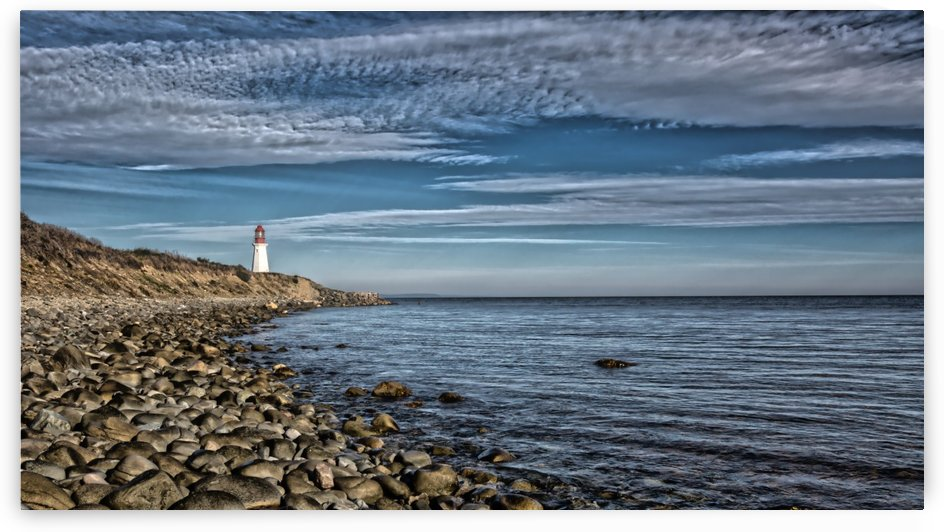 Low Point Lighthouse - Nova Scotia by Michel Soucy