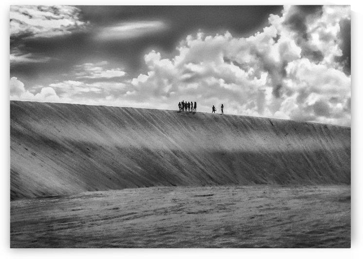 People Walking at Dune Jericoacoara Brazil01 by Daniel Ferreia Leites Ciccarino