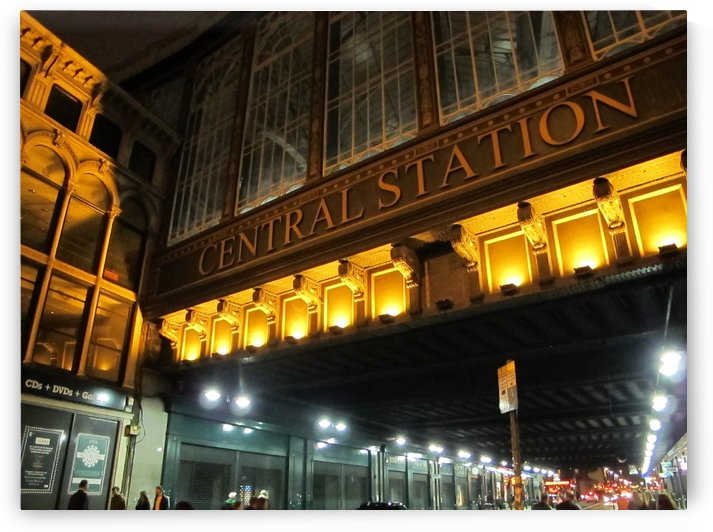 City station by Andy Jamieson
