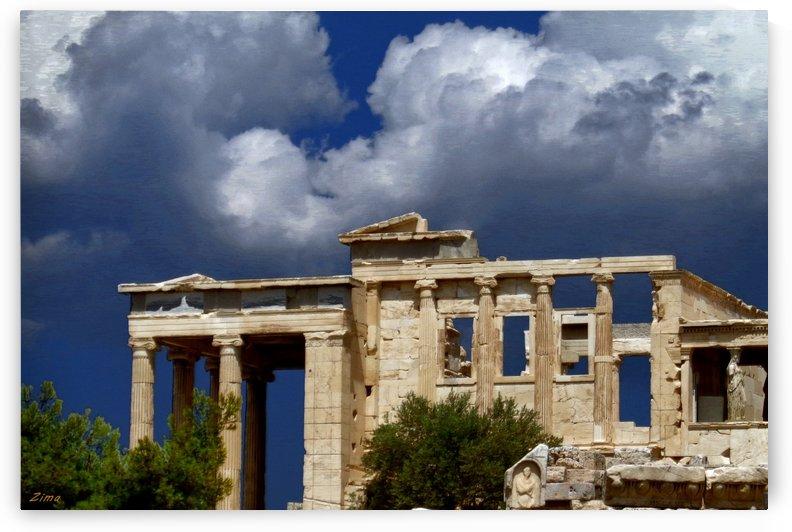 The Acropolis of Athens by karen maciejczyk
