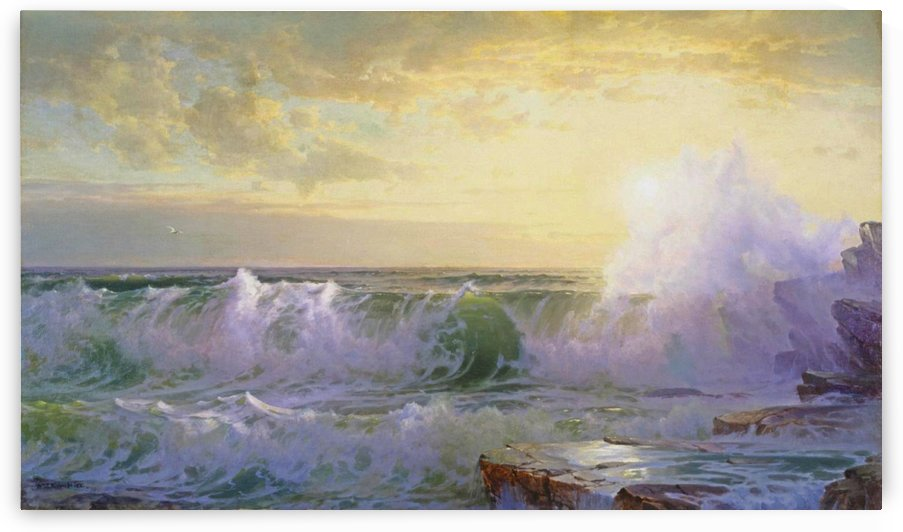 Newport Coast by William Trost Richards