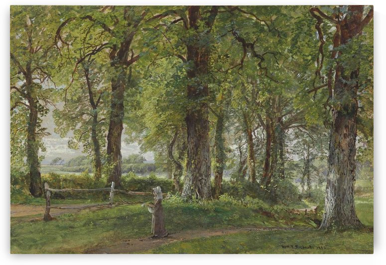 English Country Road, 1880 by William Trost Richards
