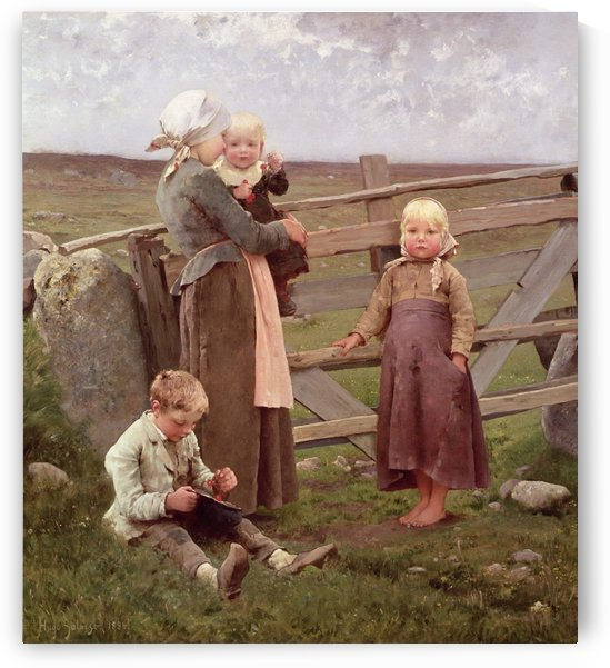 A visit to the farm by Hugo Salmson