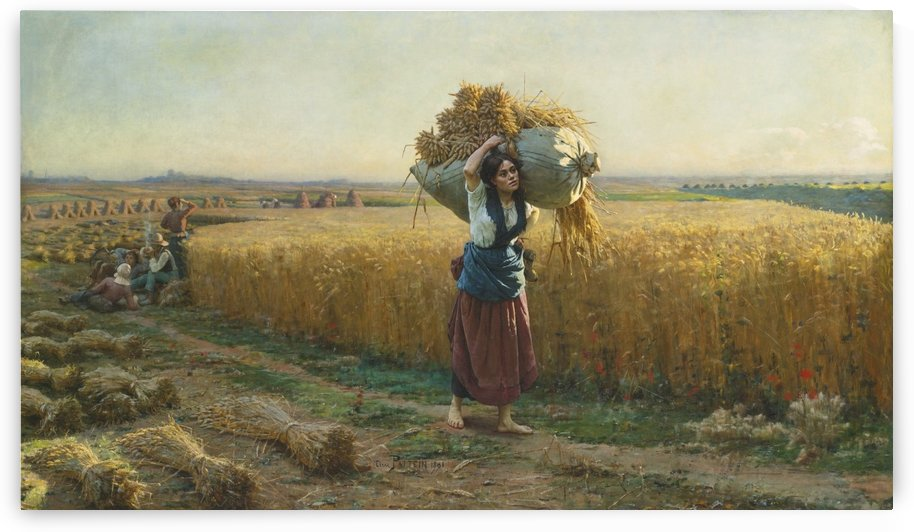 The harvest by Hugo Salmson