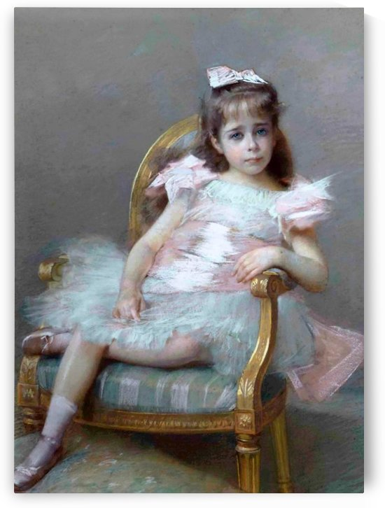 The little ballerina by Hugo Salmson