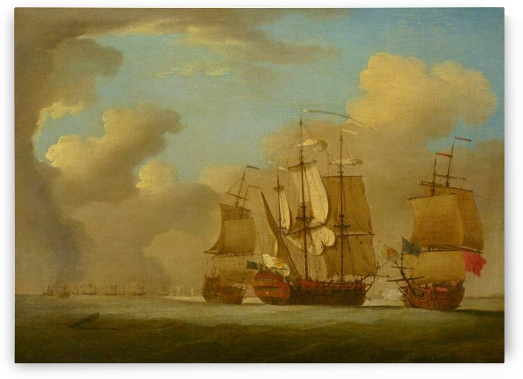 The capture of the Spanish Galleon St Joseph, 23 September 1739 by Peter Monamy