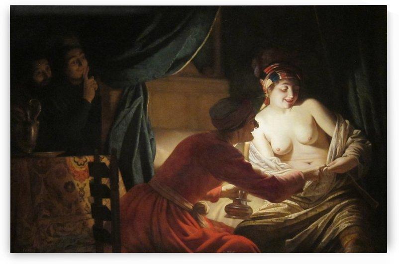 Nude Lady by Gerrit van Honthorst