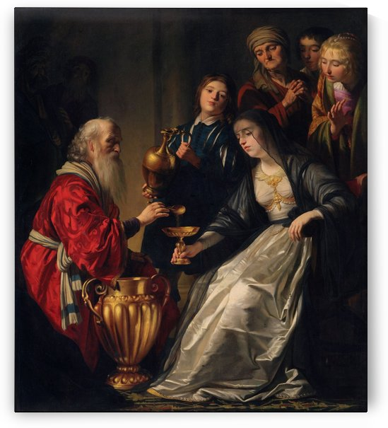 Royal scene by Gerrit van Honthorst