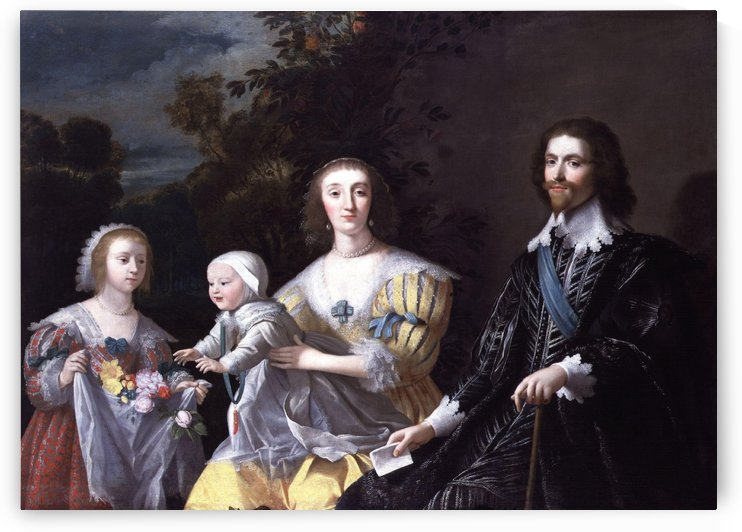 The Duke of Buckingham and his Family by Gerrit van Honthorst