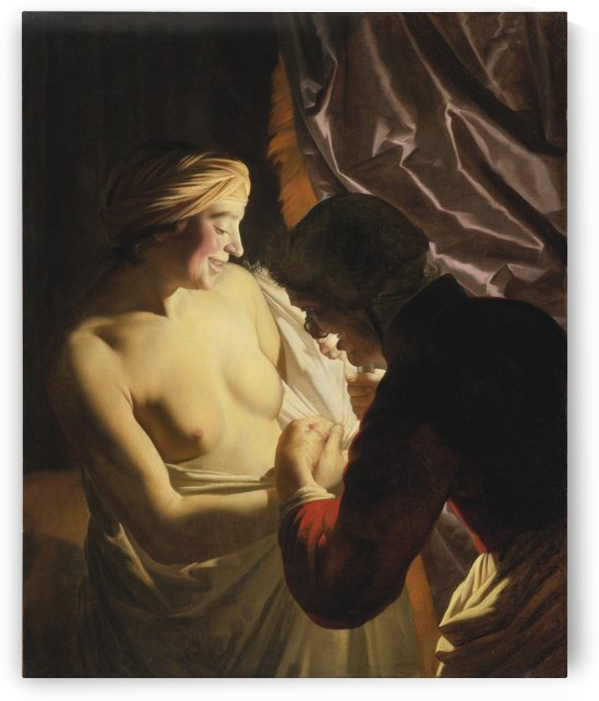 Two women by Gerrit van Honthorst