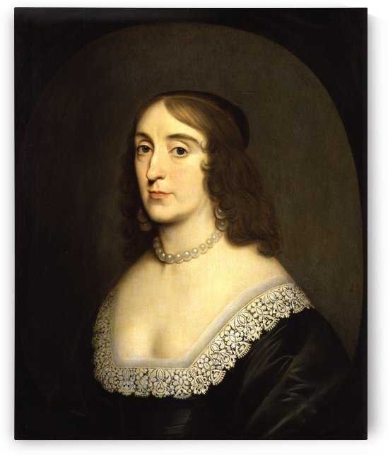 Elizabeth, Queen of Bohemia by Gerrit van Honthorst