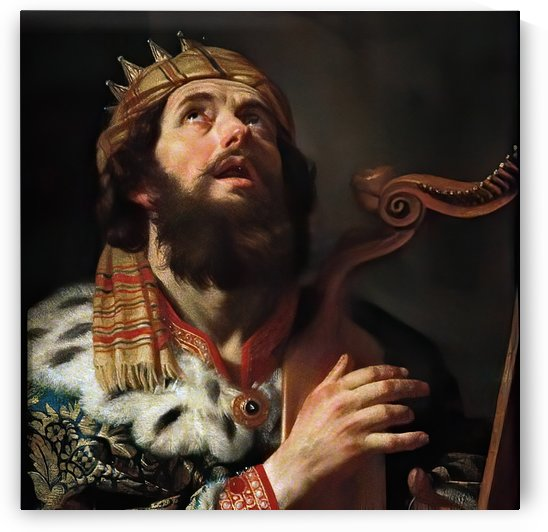 King David by Gerrit van Honthorst