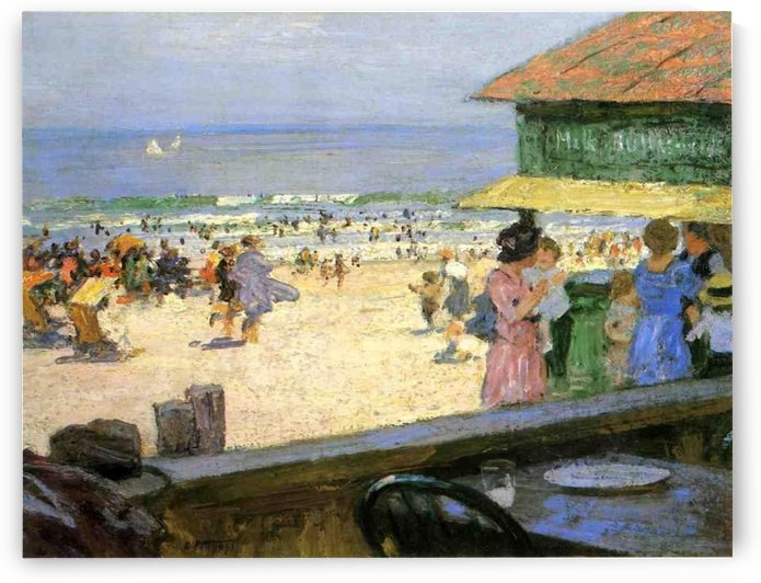 Beach Scenes by Edward Henry Potthast