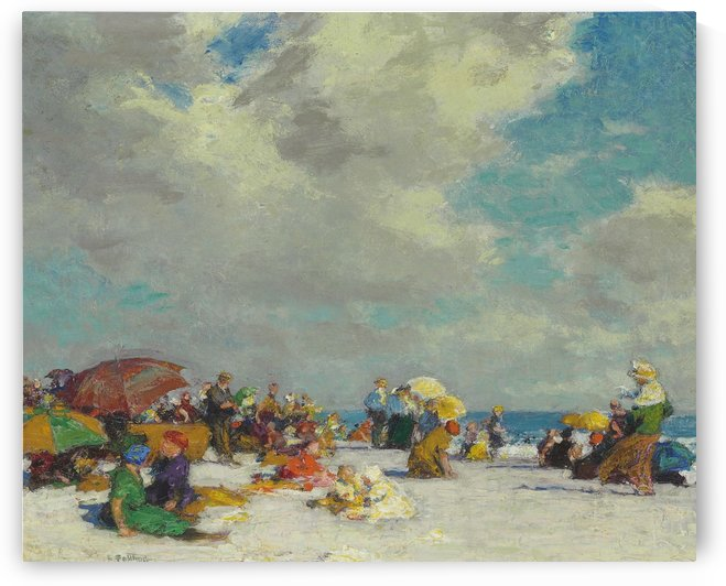 A Summer Afternoon 1910 by Edward Henry Potthast