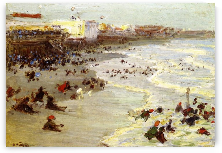 Coney Island by Edward Henry Potthast