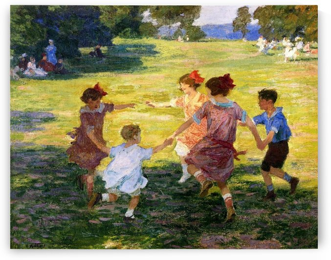 Ring Around the Rosie by Edward Henry Potthast