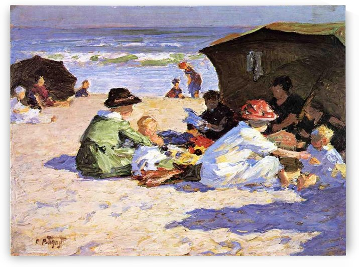 A Day at the Seashore by Edward Henry Potthast