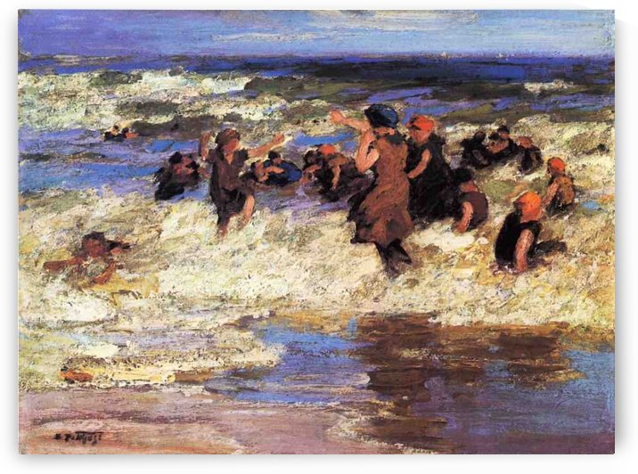 Surf Bathing by Edward Henry Potthast