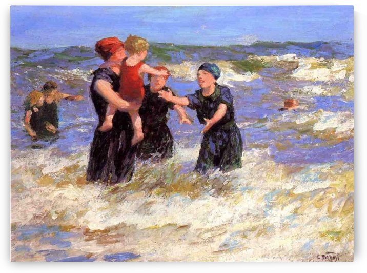 Making Friends by Edward Henry Potthast