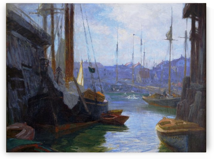 Gloucester Harbor by Edward Henry Potthast