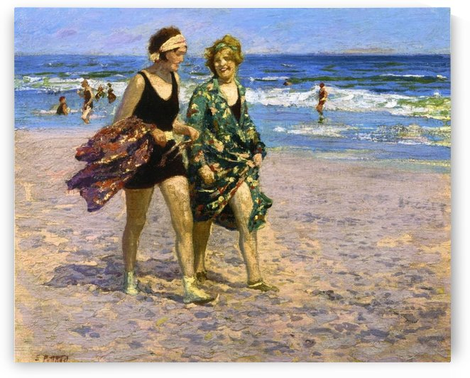 Blonde and Brunette by Edward Henry Potthast